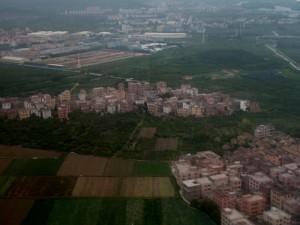 Landing in Guangzhou.