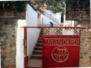 Tansen church.