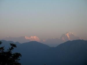 Sunrise at Srinigar, 3.