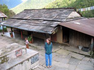 A Nepali home.