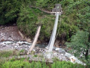 Bridges over Kimrong river.