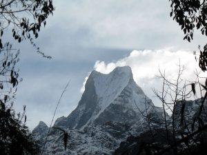 A gret view of Machhapuchhre.