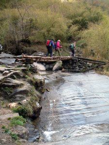 Stream crossing.