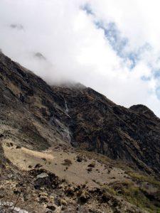 Mountinas and waterfalls everywhere.