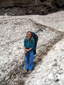 Snow crossing.