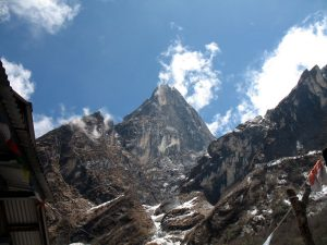 Mountains above Deuali.