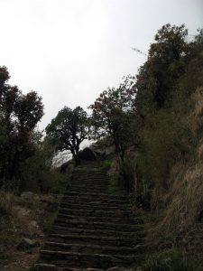 "Stairs before ""real"" Sinuwa."