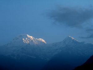 Annapurna mountains.