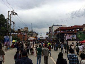 Festival in Kathmandu.