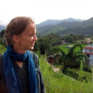 Nora in Nepal.